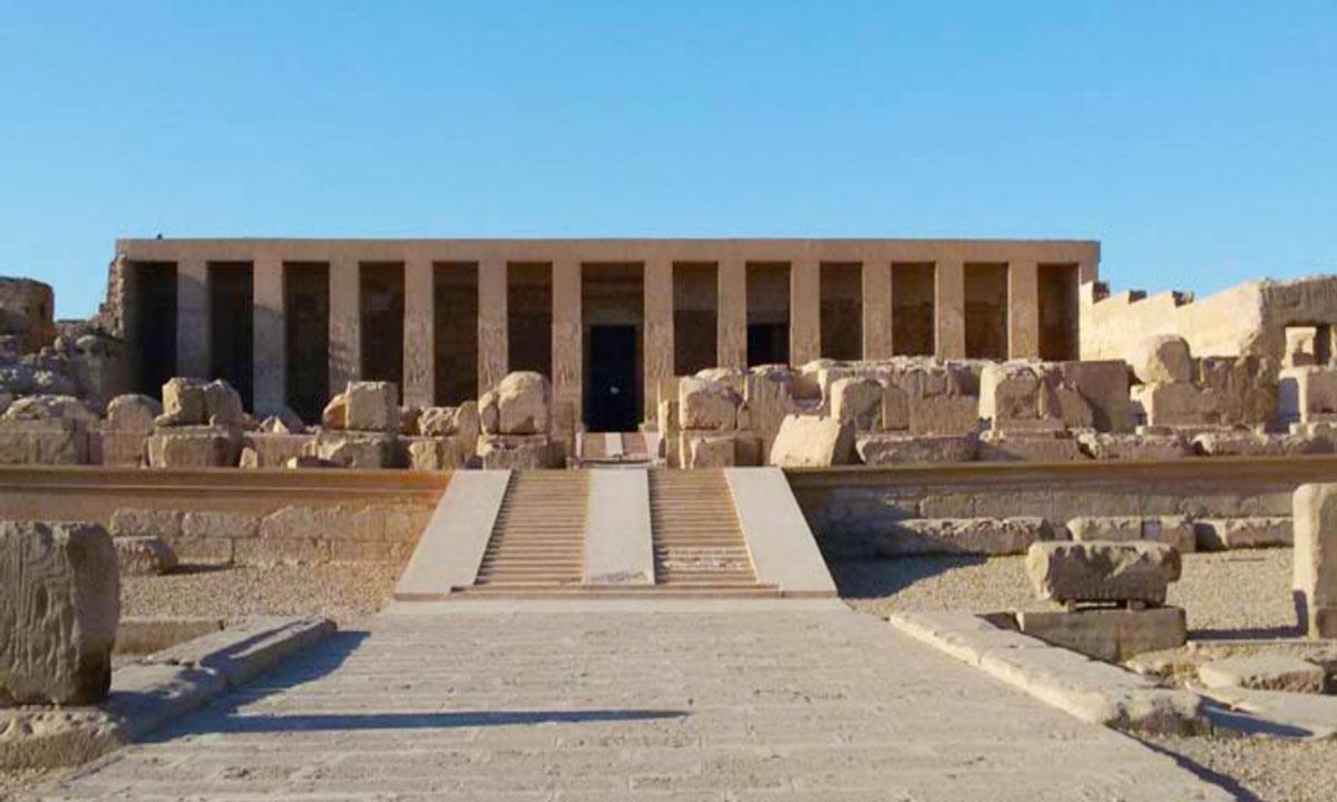 El Templo de Abidos - Egypt Tours Portal